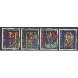 Swiss - 1969 - Nb 834/837 - Art