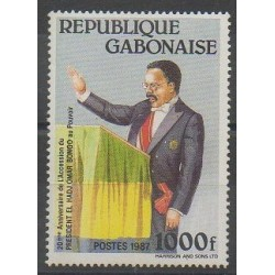 Gabon - 1987 - Nb 629 - Various Historics Themes