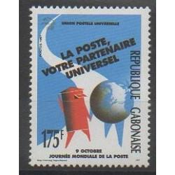 Gabon - 1991 - No 706 - Service postal