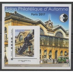 France - CNEP Sheets - 2017 - Nb CNEP 76 - Trains