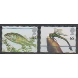 Grande-Bretagne - 2001 - No 2264/2265 - Animaux
