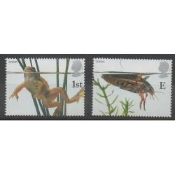 Grande-Bretagne - 2001 - No 2262/2263 - Animaux - Europa