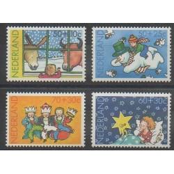 Pays-Bas - 1983 - No 1211/1214 - Noël