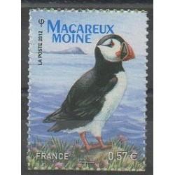 France - Autoadhésifs - 2012 - No 712 - Oiseaux