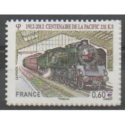 France - Autoadhésifs - 2012 - No 711 - Chemins de fer