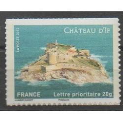 France - Autoadhésifs - 2012 - No 722A - Châteaux