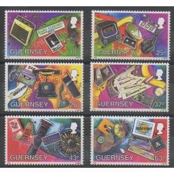 Guernesey - 1997 - No 751/756 - Télécommunications