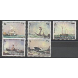 Aurigny (Alderney) - 1987 - No 32/36 - Navigation