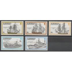 Aurigny (Alderney) - 1990 - No 43/47 - Navigation
