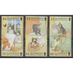 Aurigny (Alderney) - 1996 - No 94/99 - Chats