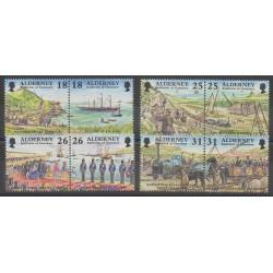 Aurigny (Alderney) - 1997 - Nb 108/115 - Various Historics Themes