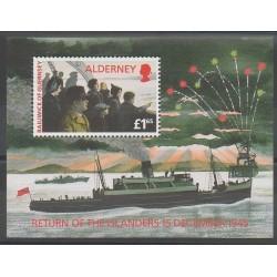 Aurigny (Alderney) - 1995 - No BF1 - Seconde Guerre Mondiale