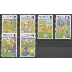 Aurigny (Alderney) - 2001 - Nb 174/179 - Various sports