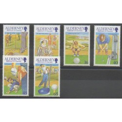 Aurigny (Alderney) - 2001 - No 174/179 - Sports divers