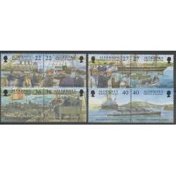 Aurigny (Alderney) - 2001 - Nb 180/187 - Boats