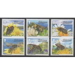 Aurigny (Alderney) - 2009 - No 346/351 - Insectes