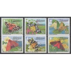 Aurigny (Alderney) - 2012 - No 447/452 - Insectes