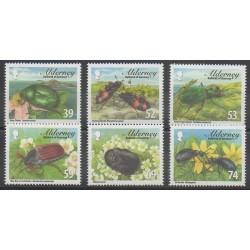 Aurigny (Alderney) - 2013 - No 466/471 - Insectes