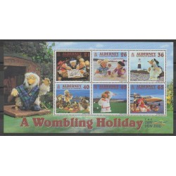 Aurigny (Alderney) - 2000 - Nb BF7 - Tourism - Philately - Various sports