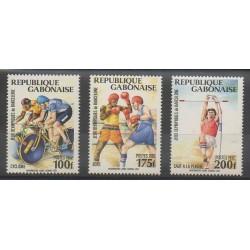 Gabon - 1992 - No 733/735 - Jeux Olympiques d'été