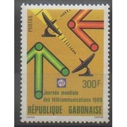 Gabon - 1989 - No 659 - Télécommunications