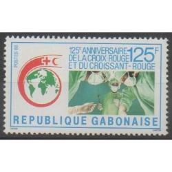 Gabon - 1988 - No 649 - Santé ou Croix-Rouge