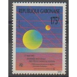 Gabon - 1992 - No 728 - Télécommunications