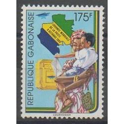 Gabon - 1989 - No 679 - Service postal