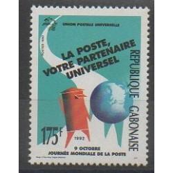 Gabon - 1992 - No 739 - Service postal