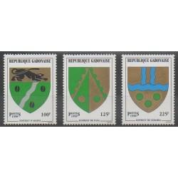 Gabon - 1998 - Nb 945/947 - Coats of arms