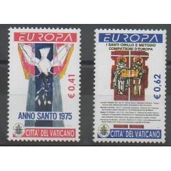 Vatican - 2003 - Nb 1314/1315 - Art - Europa