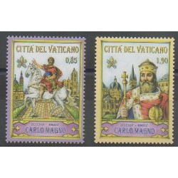 Vatican - 2014 - Nb 1665/1666 - Various Historics Themes
