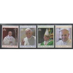 Vatican - 2014 - Nb 1649/1652 - Pope