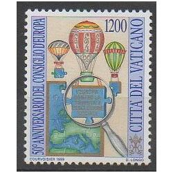 Vatican - 1999 - No 1155 - Ballons - Dirigeables