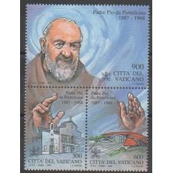 Vatican - 1999 - No 1138/1140 - Religion