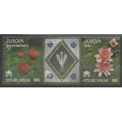 Vatican - 1999 - No 1127/1128 - Fleurs - Europa