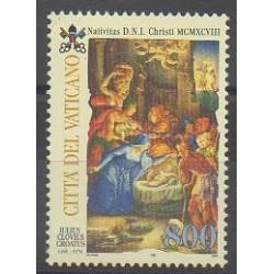 Vatican - 1998 - No 1120 - Noël