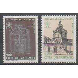 Vatican - 1998 - No 1106/1107 - Religion - Églises