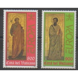 Vatican - 1998 - No 1104/1105 - Europa