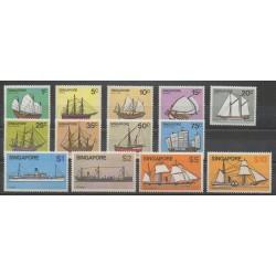 Singapour - 1980 - No 334/346 - Navigation