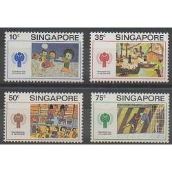 Singapour - 1979 - No 327/330 - Enfance