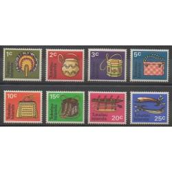 Tokelau - 1971 - Nb 25/32 - Craft