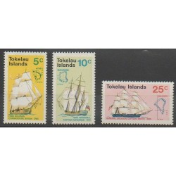 Tokelau - 1970 - Nb 22/24 - Boats