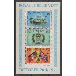 Barbuda - 1977 - No BF25 - Royauté - Principauté