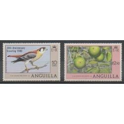 Anguilla - 1980 - Nb 348/349 - Scouts