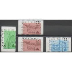 Netherlands - 1989 - Nb 1331a/1333a-1333b - Boats
