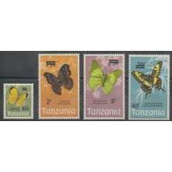 Tanzania - 1975 - Nb 48/51 - Insects