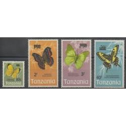 Tanzanie - 1975 - No 48/51 - Insectes