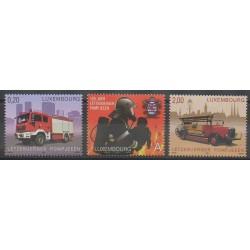 Luxembourg - 2009 - Nb 1762/1764 - Firemen