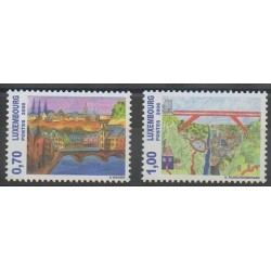 Luxembourg - 2008 - No 1739/1740 - Dessins d'enfants